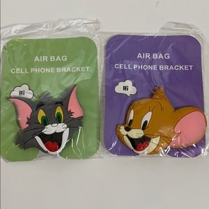 Accessories - Brand New Tom and Jerry 3D pop socket cell phone